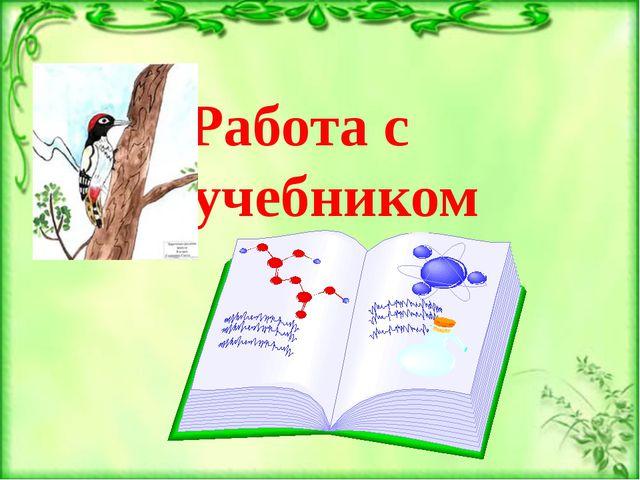 Работа с учебником