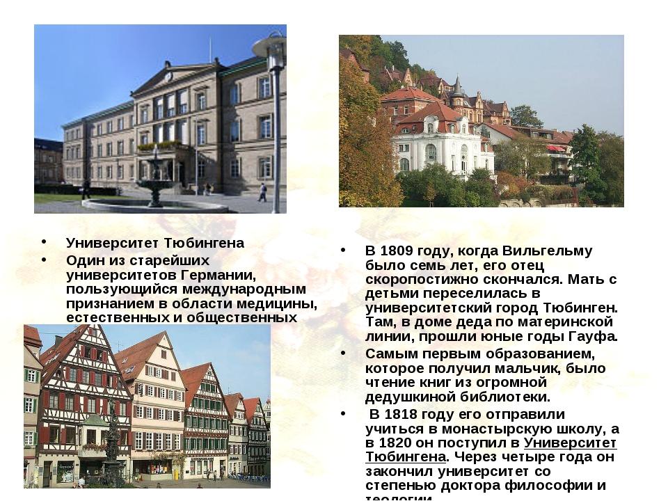 Университет Тюбингена Один из старейших университетов Германии, пользующийся...