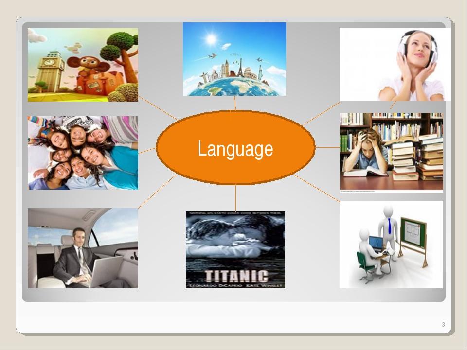 * Language