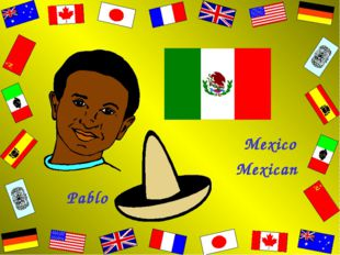Pablo Mexico Mexican