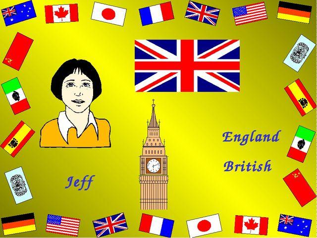 Jeff British England