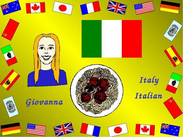 Giovanna Italy Italian