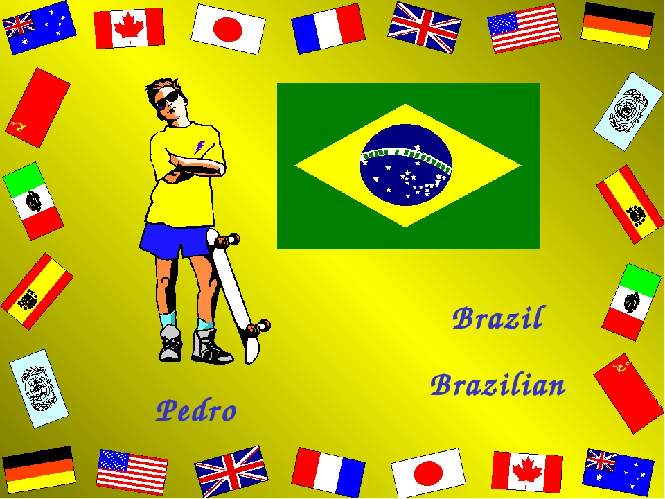 Pedro Brazil Brazilian