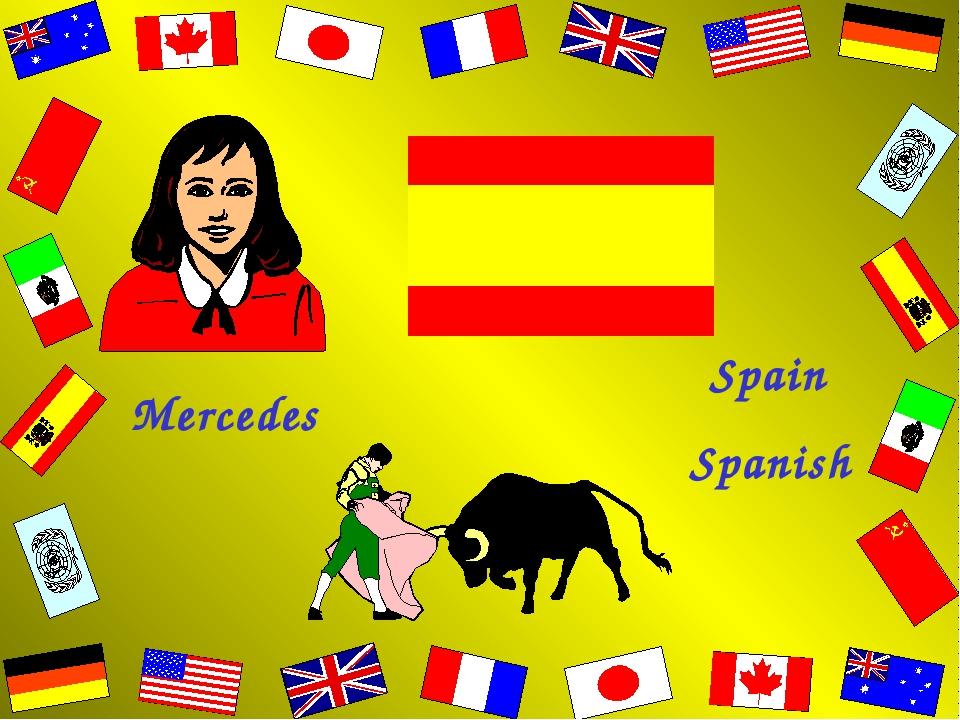 Mercedes Spain Spanish
