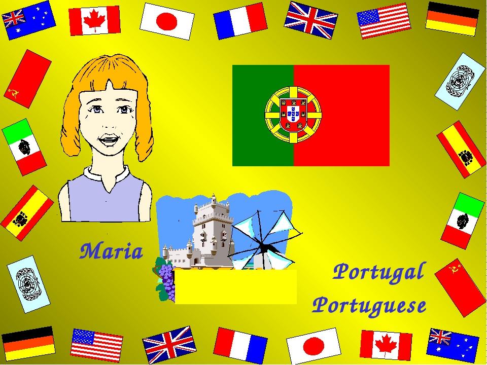 Maria Portugal Portuguese