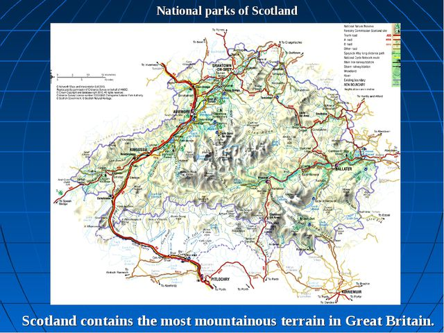National parks of Scotland Scotland contains the most mountainous terrain in...