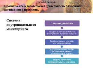 Проектно-исследовательская деятельность в гимназии: достижения и проблемы. Си