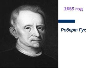 Роберт Гук 1665 год