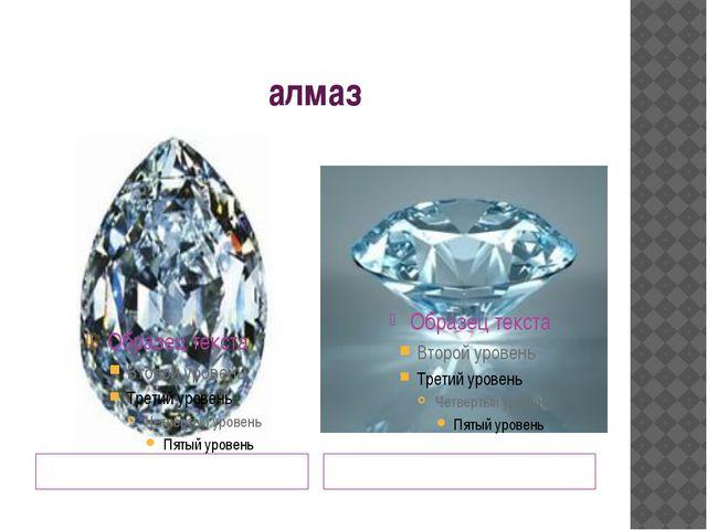 алмаз Обработанный Обработанный