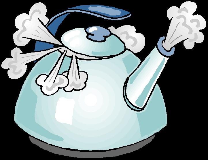 это почему не шумит вода в эмалировангом чайн ке такой пары часто