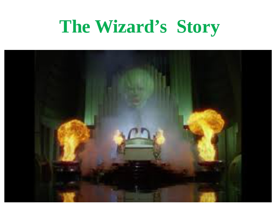 The Wizard's Story