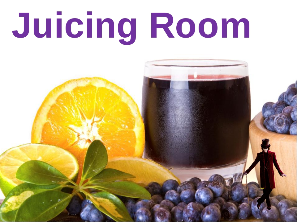 Juicing Room menu