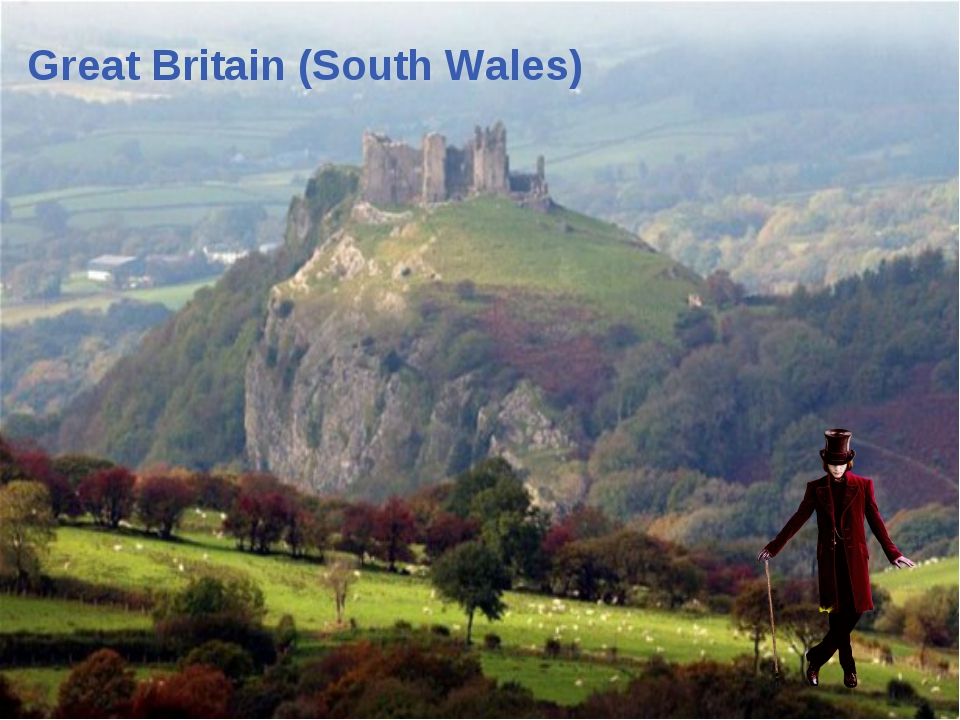 Great Britain (South Wales) menu