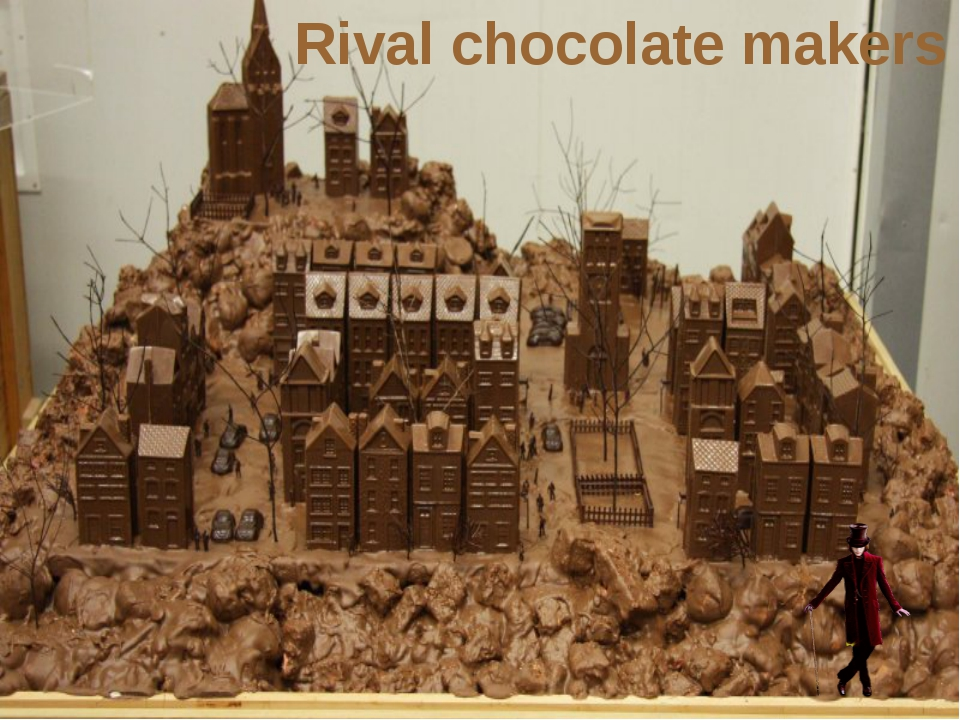 Rival chocolate makers menu
