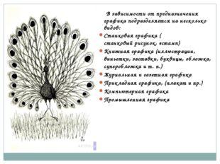 В зависимости от предназначения графика подразделяется на несколько видов: С