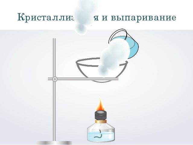 Кристаллизация и выпаривание