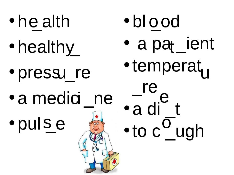 h _alth health _ press _re a medic _ne pul _e bl _od a pa _ient temperat _re...