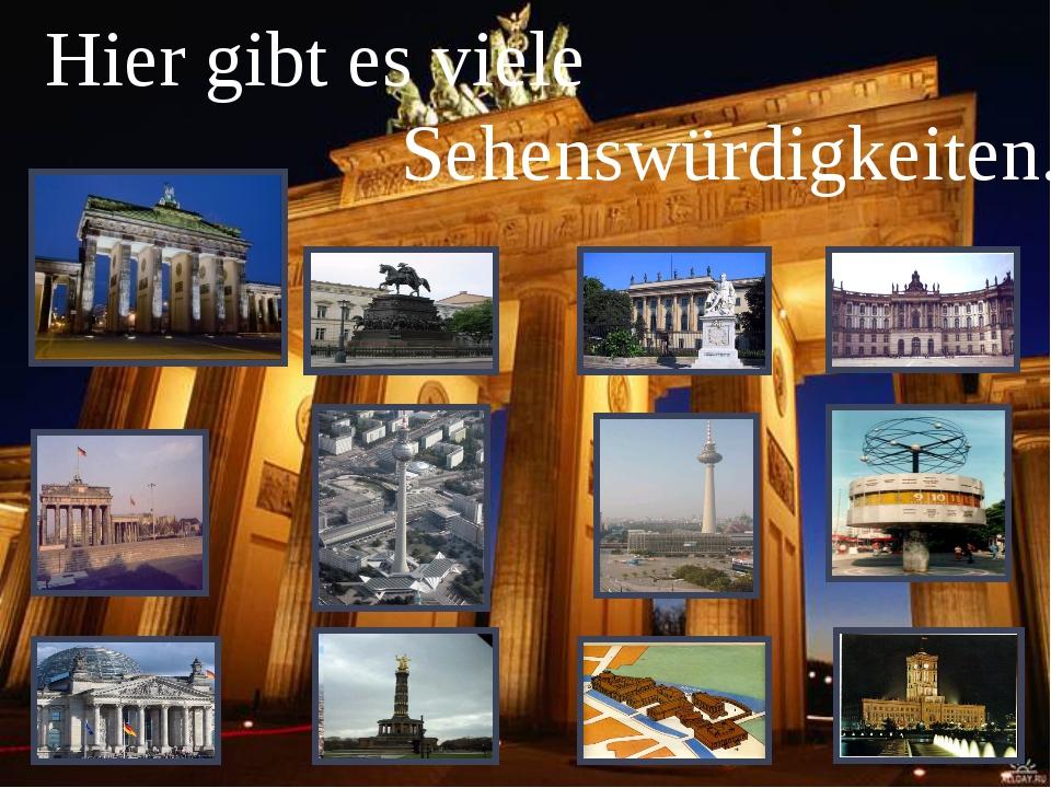 """Die Hauptstraße Berlins heisst """"Unter den Linden"""". Hier befindet sich die be..."""