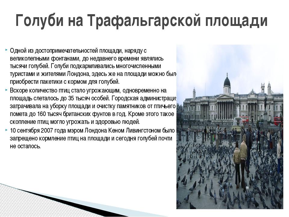 Одной из достопримечательностей площади, наряду с великолепными фонтанами, до...
