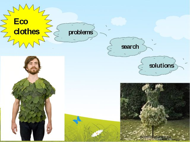 Eco clothes problems search solutions
