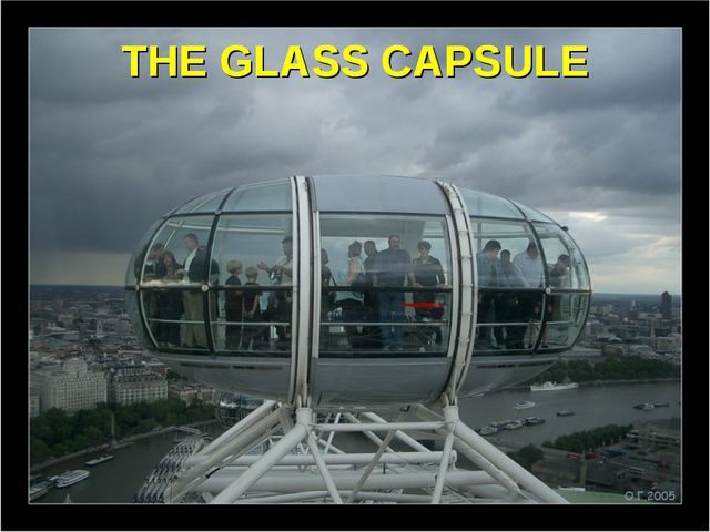 THE GLASS CAPSULE