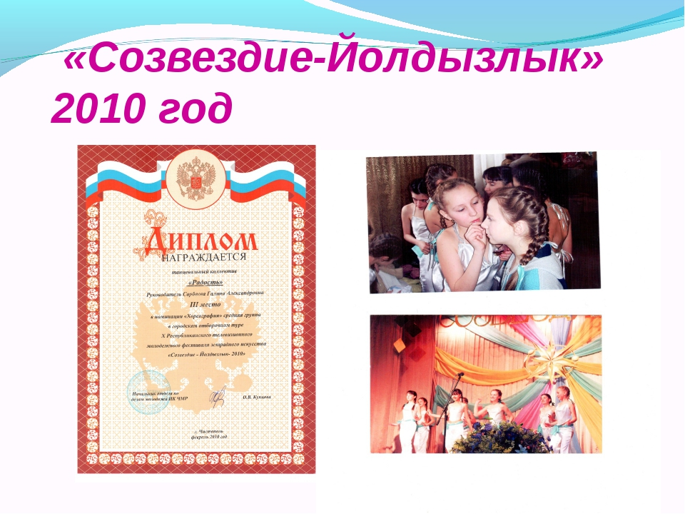 «Созвездие-Йолдызлык» 2010 год