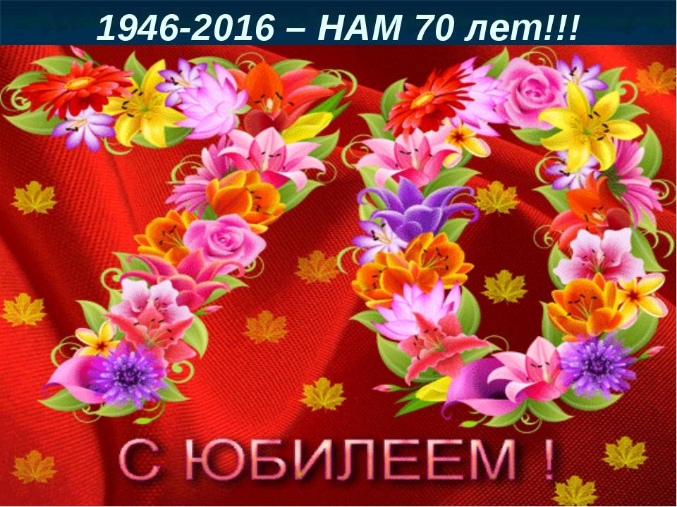 Поздравление с днем рожденья 70 летие