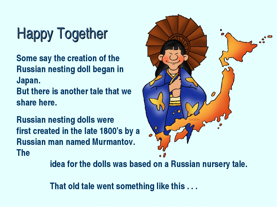 Some say the creation of the Russian nesting doll began in Japan. But there i...