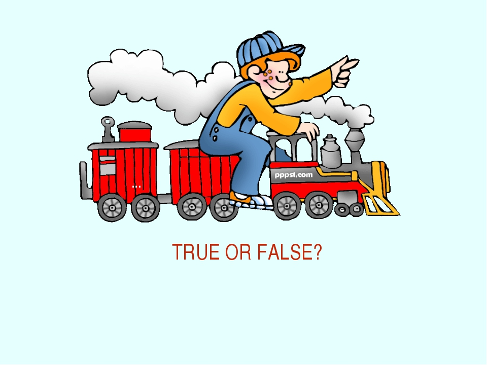 … TRUE OR FALSE?