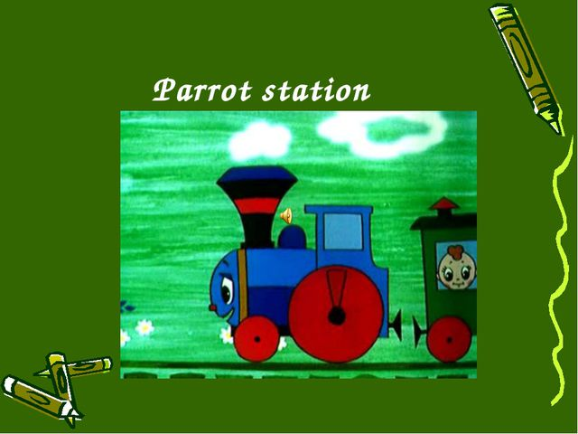 Parrot station