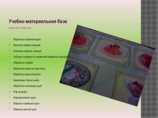 Учебно-материальная база комплект плакатов: Обработка клубнеплодов Простая на