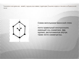 Элементы геометрических знаний у народов, населявших территорию Хакасии в пер