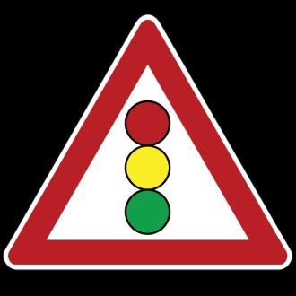 перекрёсок регулируемый светофором