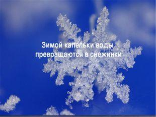 """""""Мультимедийные технологии в педагогическом процессе в ДОУ"""" Зимой капельки во"""