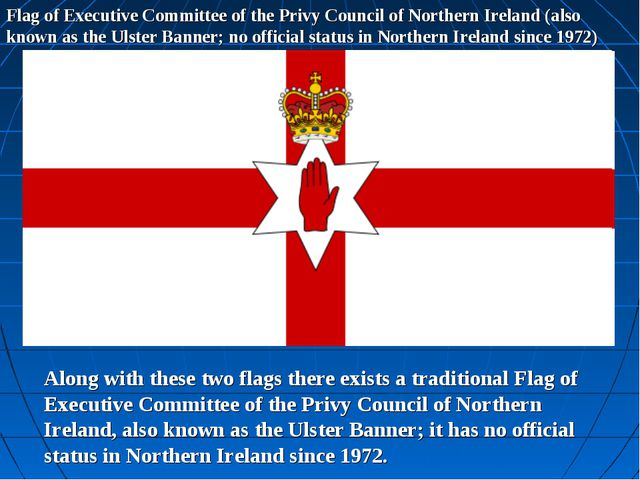 Flag of Executive Committee of the Privy Council of Northern Ireland (also kn...