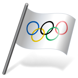 International-Olympic-Committee-Flag-3-icon