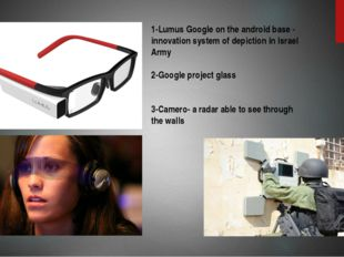1 2 3 1-Lumus Google on the android base - innovation system of depiction in