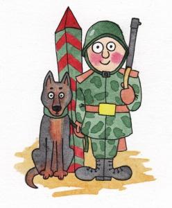 Написать, смешные картинки пограничника с собакой