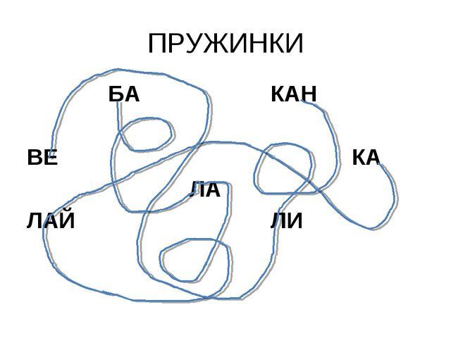 ПРУЖИНКИ БАКАН  ВЕКА ЛА ЛАЙЛИ