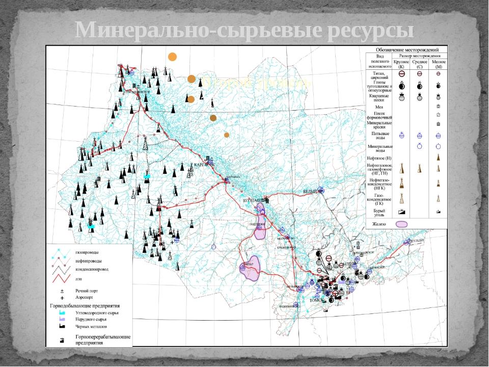 Минерально-сырьевые ресурсы