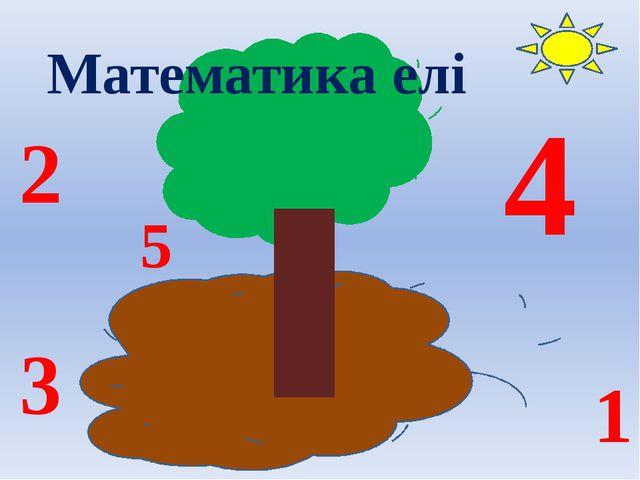 Математика елі 5 4 3 1 2