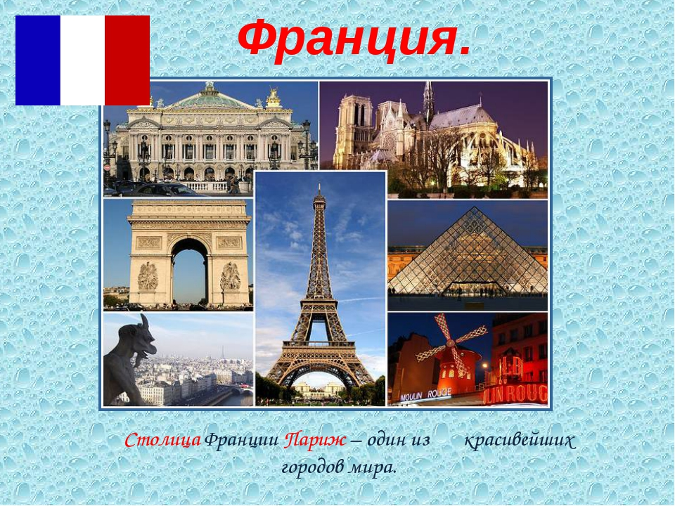 Столица Франции Париж – один из красивейших городов мира. Франция.
