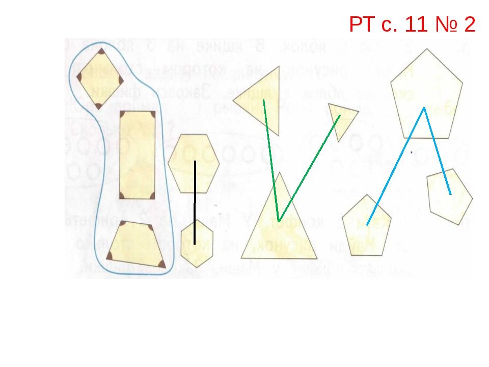 РТ с. 11 № 2