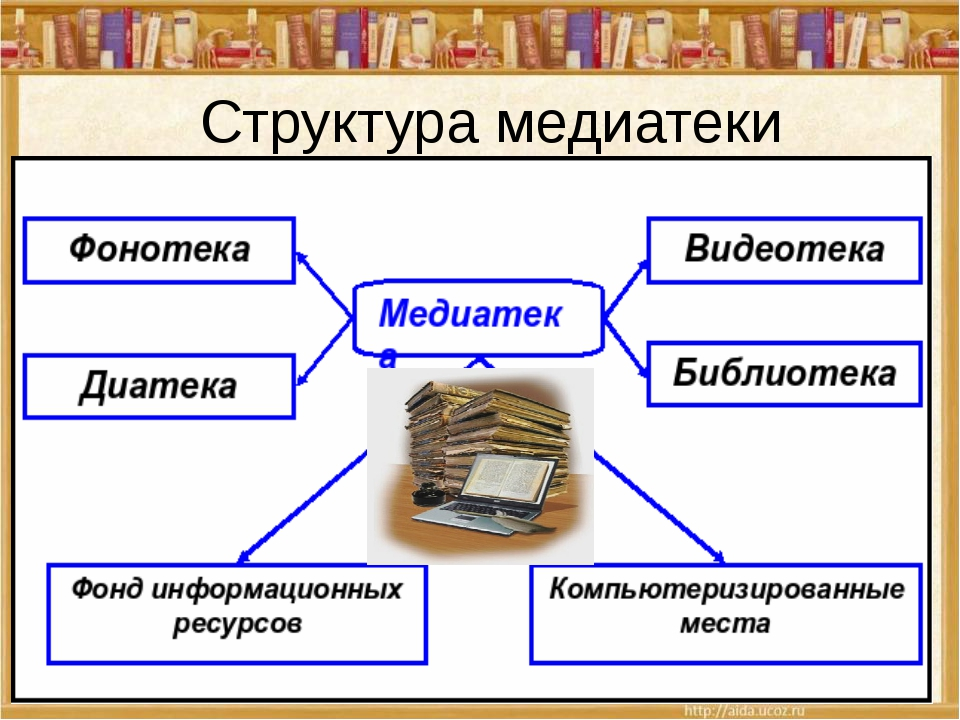 Структура медиатеки