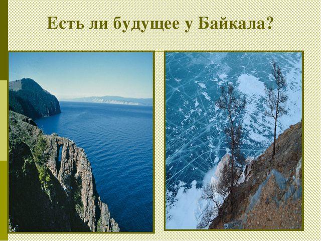 Есть ли будущее у Байкала?