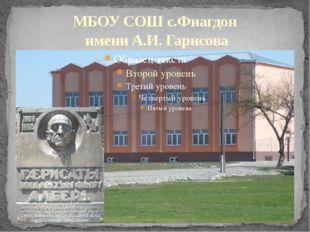 МБОУ СОШ с.Фиагдон имени А.И. Гарисова