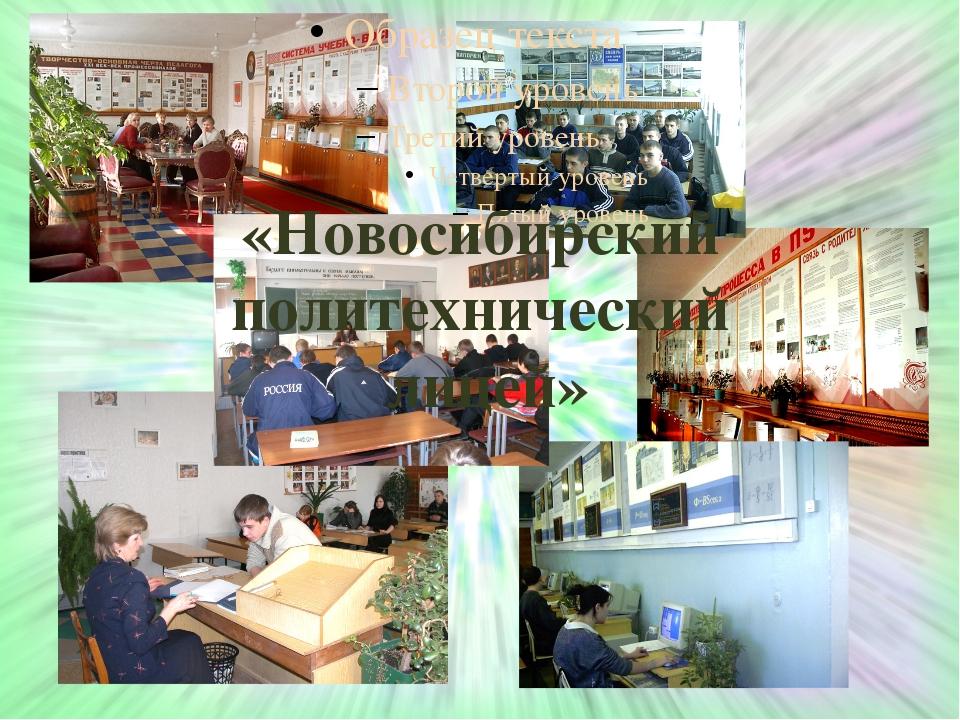 «Новосибирский политехнический лицей»