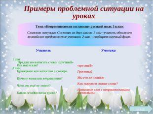 Тема «Непроизносимая согласная» русский язык 3 класс Сложная ситуация. Состои