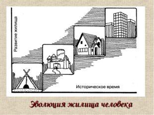 Эволюция жилища человека