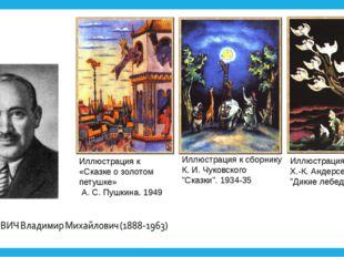"""Иллюстрация к сборнику К. И. Чуковского """"Сказки"""". 1934-35 Иллюстрация к сказк"""